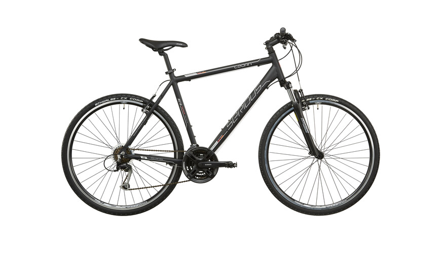 Serious Cedar hybride fiets Heren zwart